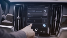 Volvo with built-in Skype